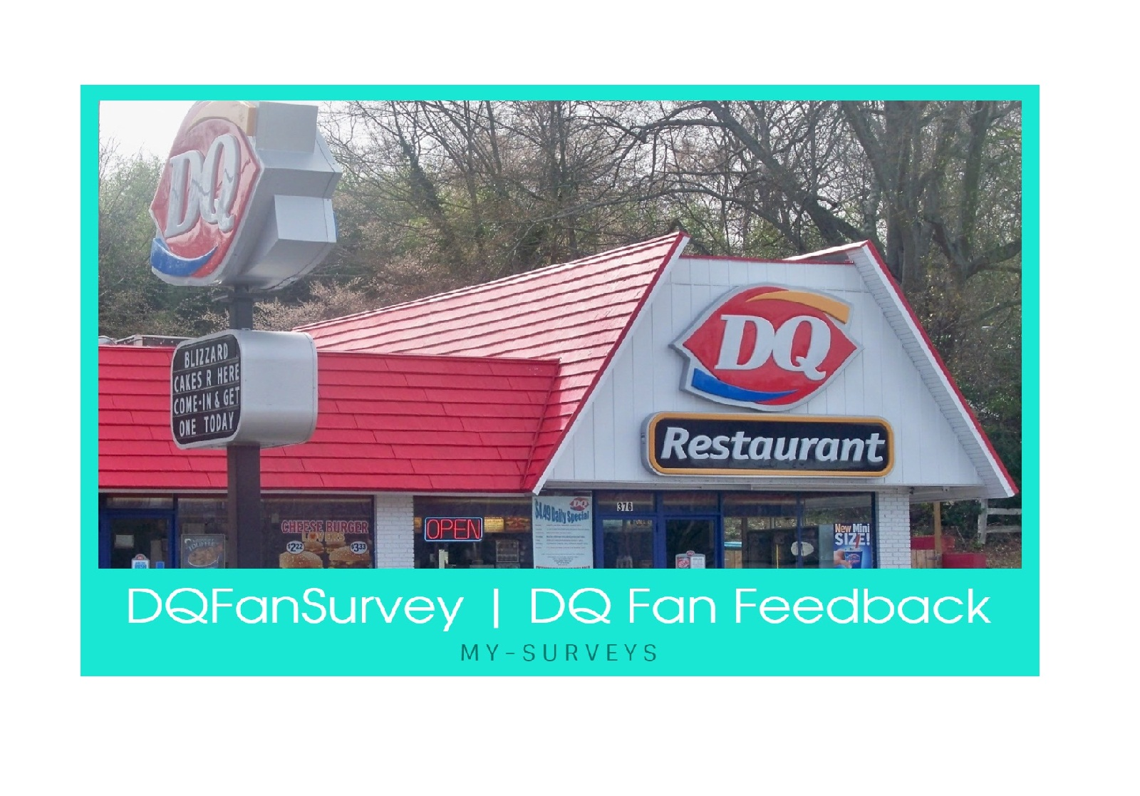 www.dqfansurvey.com [Dairy Queen Survey] DQ Fan Feedback