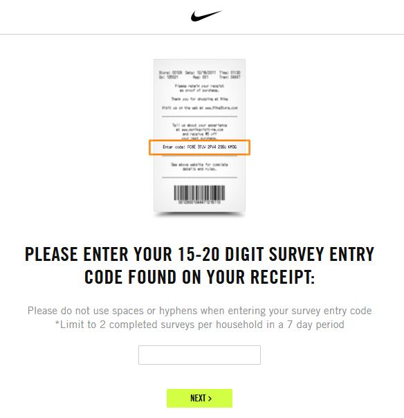 Nike Survey: How to Complete it, Steps and Tips2