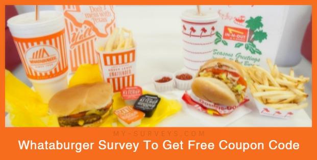 Whataburger Survey Rewards