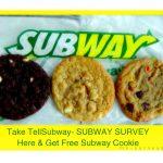 tellsubway.com-SUBWAY SURVEY (Subway Customer Satisfaction Survey)