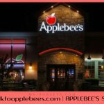 APPLEBEE'S SURVEY @ www.talktoapplebees.com | Take Entry In Applebees Sweepstakes