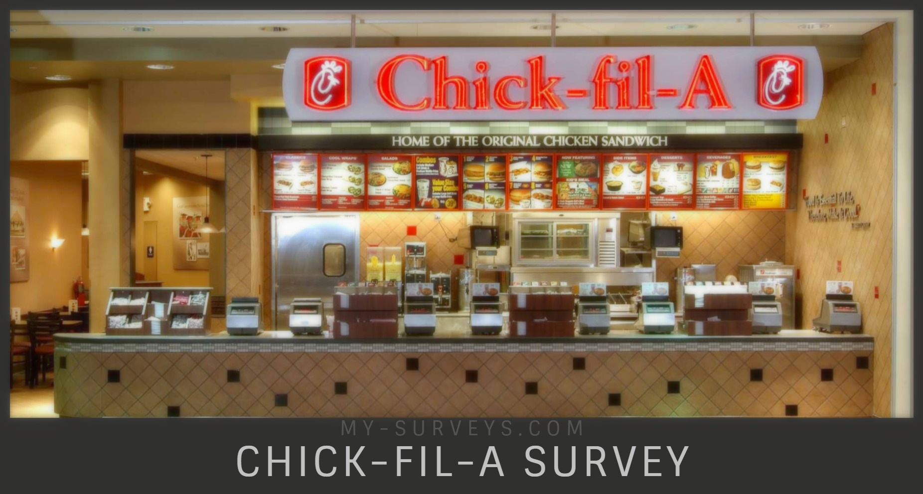 Chick Fil A Survey Sweepstakes