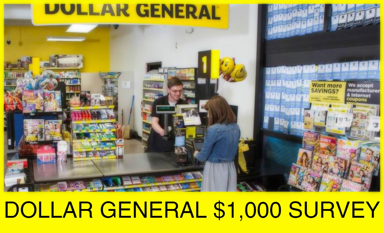Dollar General Survey Sweepstakes