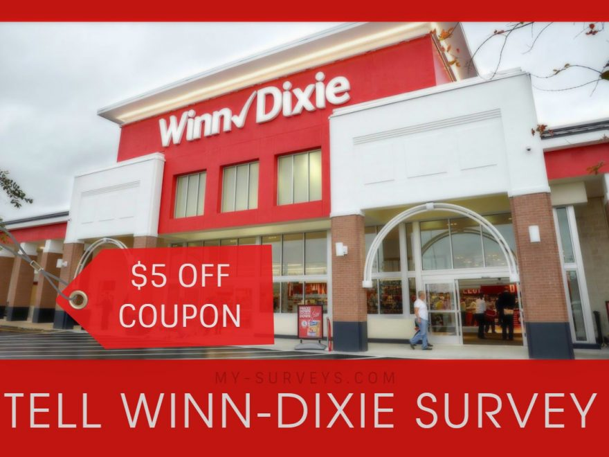 Tell Winn-Dixie Survey