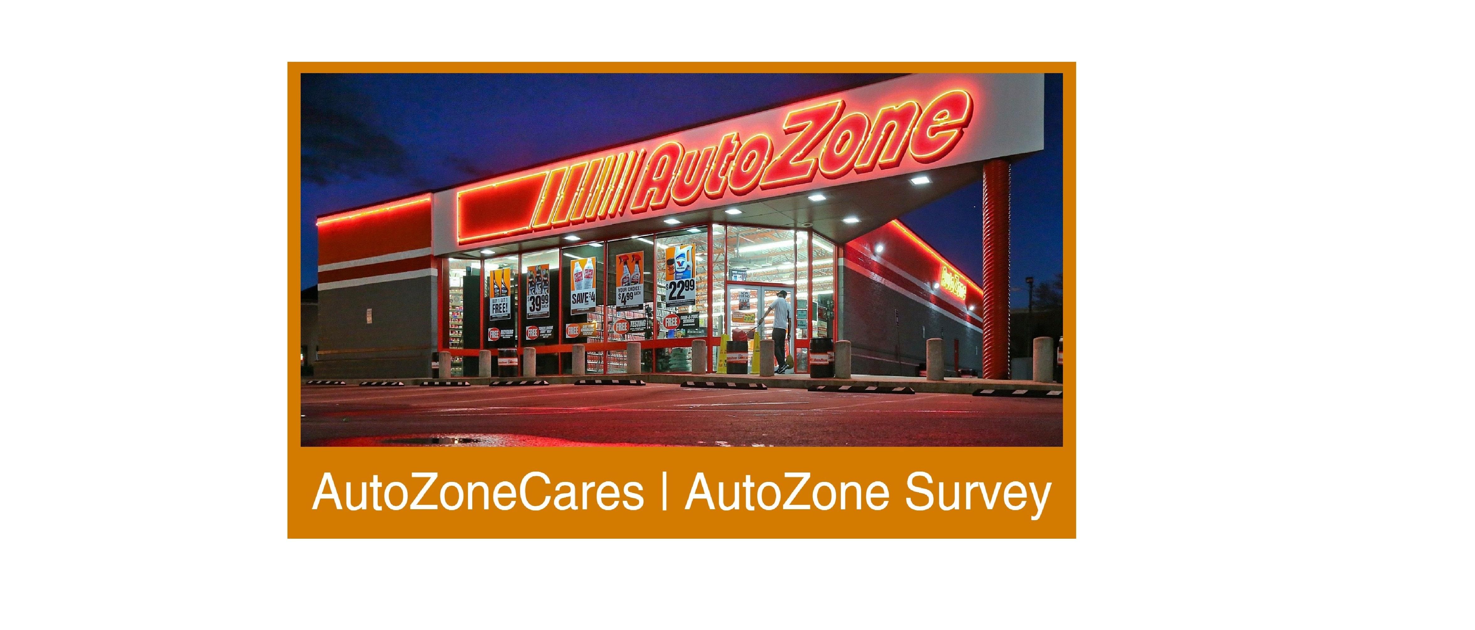 AUTOZONE SURVEY | $5,000 Cash Prize @ www.autozonecares.com