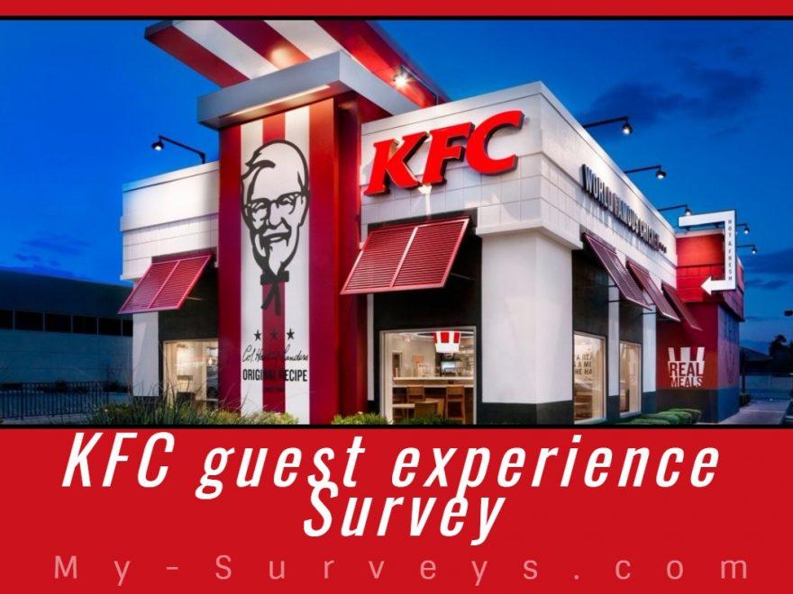 KFC guest experience Survey