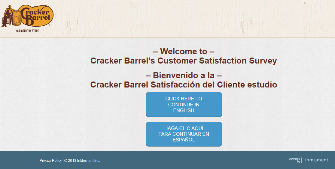 Steps || How to Complete Cracker Barrel Survey.?