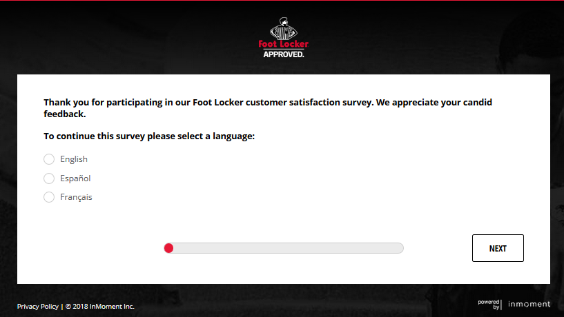 Foot Locker Survey