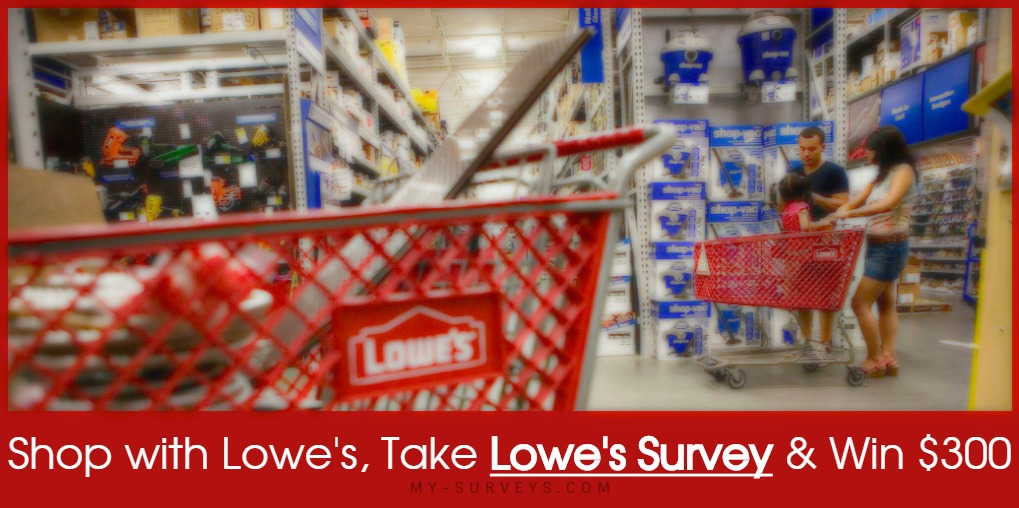 Lowes Survey Sweepstakes