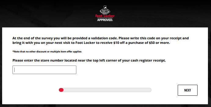 Step Guide    How to Complete the Foot Locker Survey.
