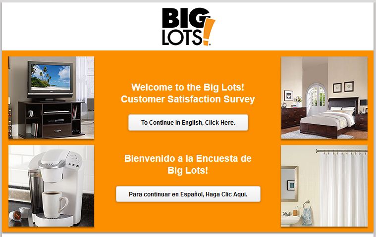 Big Lots Survey @ Big Lots Sweepstakes