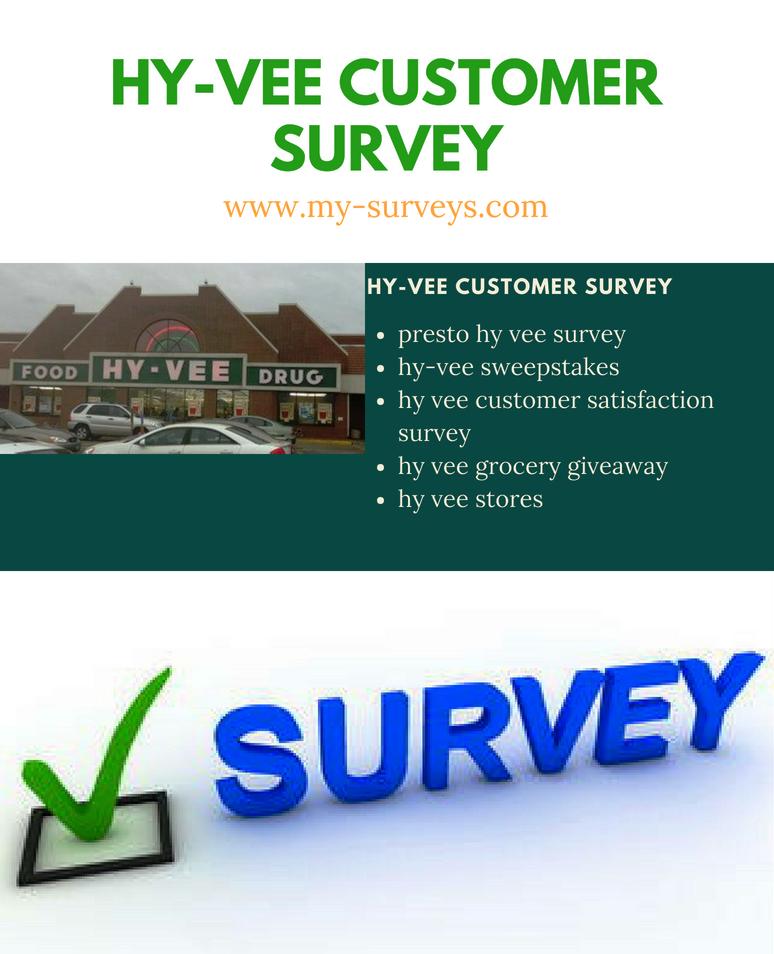 Hy-Vee Customer Survey | Win Hy-Vee $500 Gift Card @ www.hy-veesurvey.com