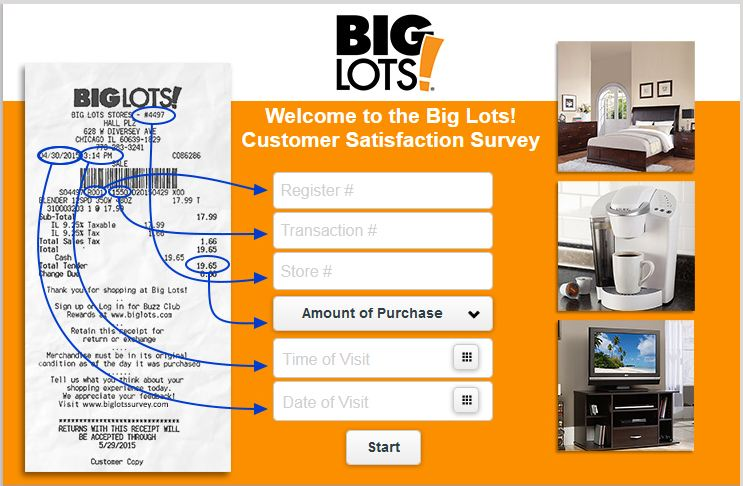 Quick Guide: Big Lots Survey & Big Lots Sweepstakes