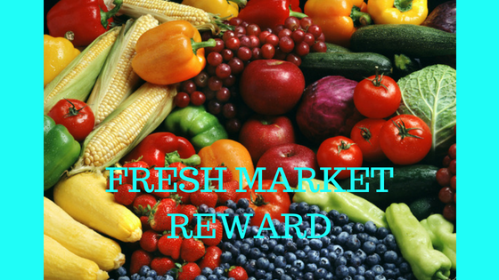 fresh market reward