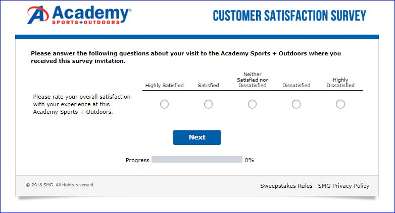 academy survey
