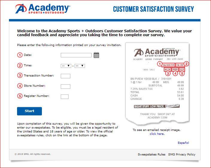 academy survey