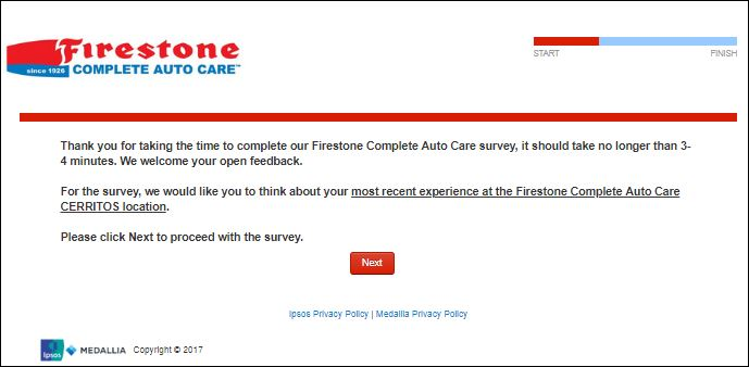 firestone survey 2