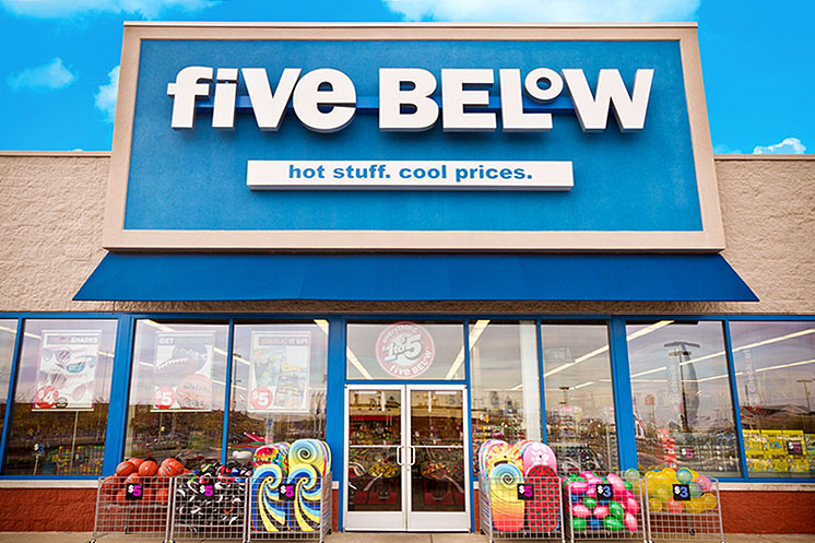 five-below storefront