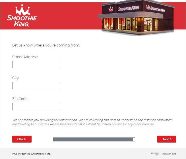 smoothie king survey 3