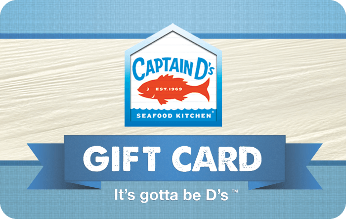 captain ds gift card
