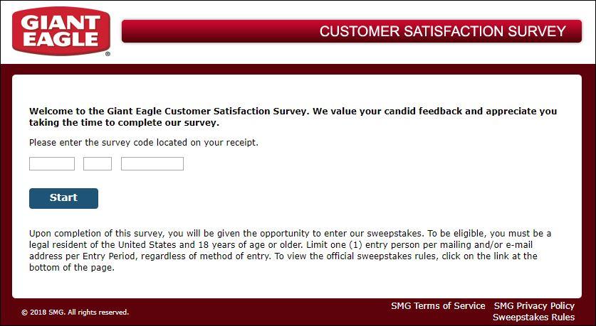 giant eagle survey
