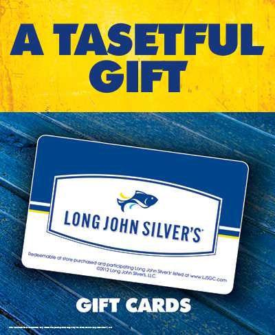 long john silver gift card