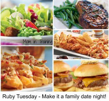 Ruby Tuesday Rewards