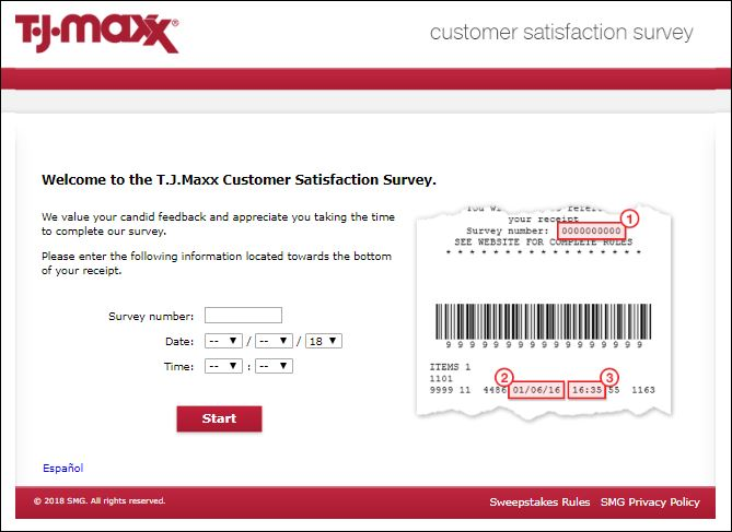 tjmaxx survey