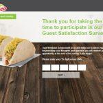 myopinion.deltaco.com @ Del Taco Survey online