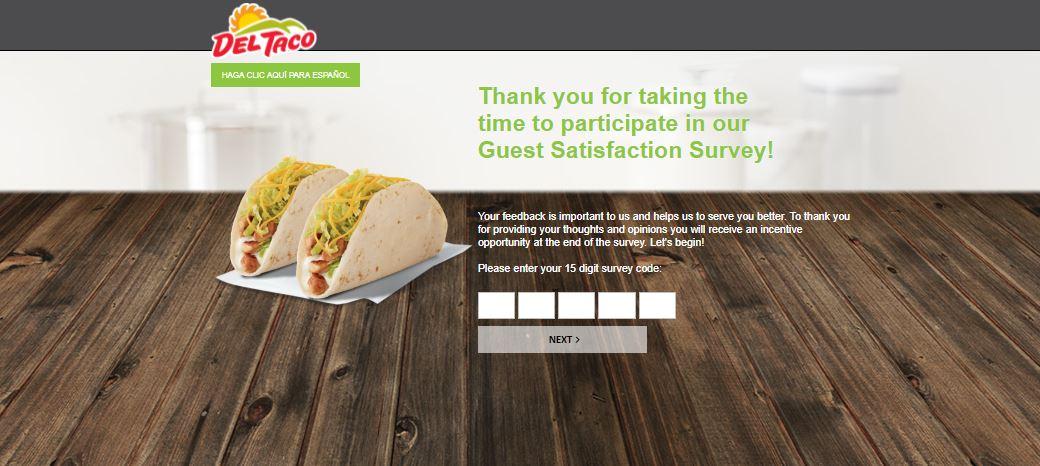 myopinion.deltaco.com|Del Taco Survey get $1 off