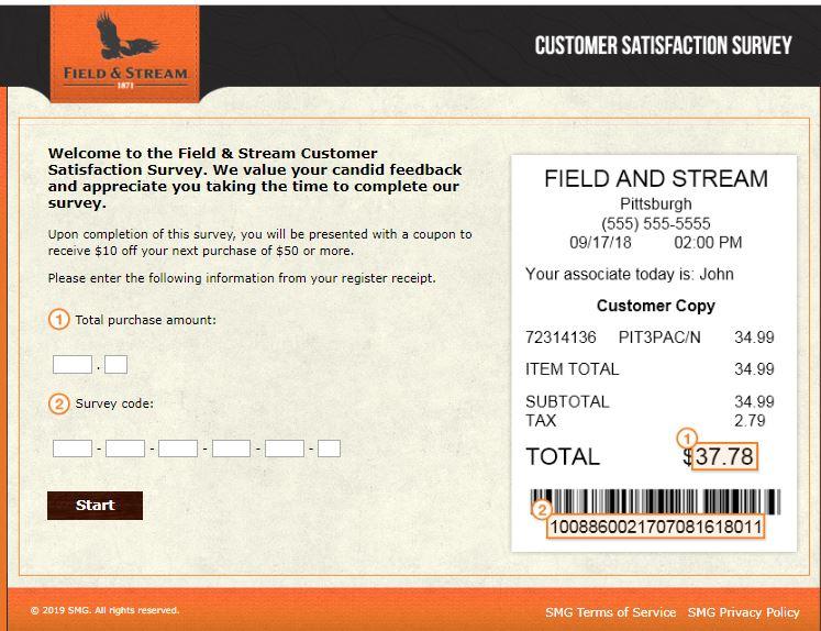 Fieldandstreamshop Survey - Customer Survey Guide