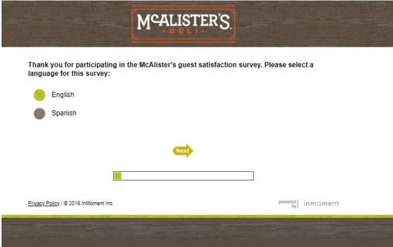 Talk To McAlister's – TalktoMCAlisters.Com McAlister's Survey Free ...