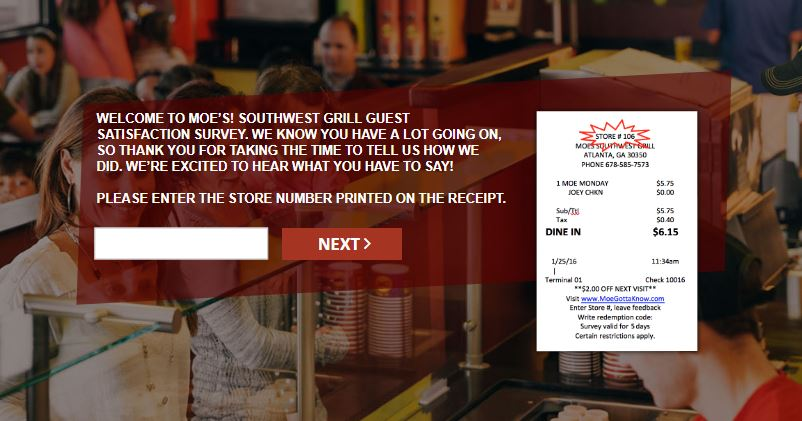 Moes Survey – www.moessatisfactionsurvey.com - Customer Survey ...