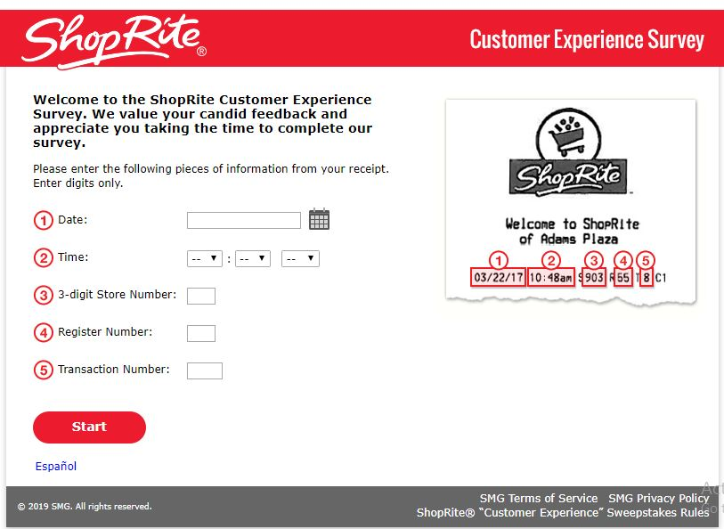 Shoprite Customer Survey Sweepstakes – How to Win $500 ShopRite ...