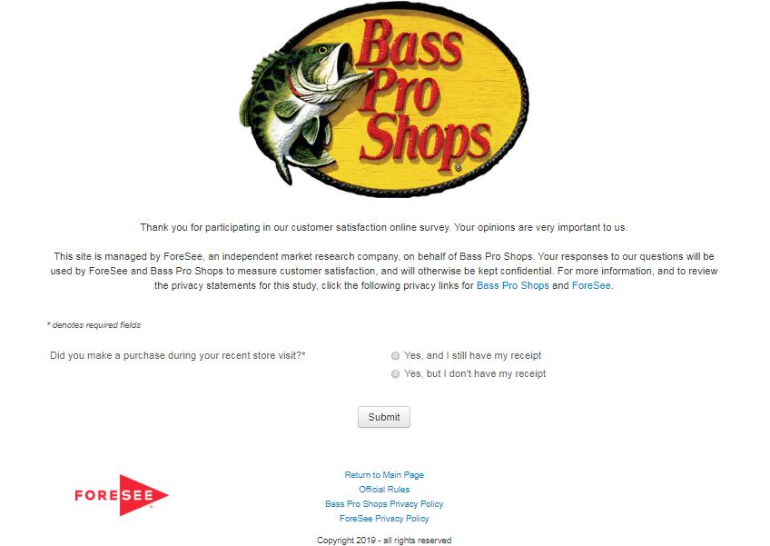 www.bassprosurvey.com