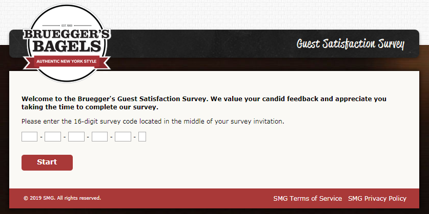 Bruegger's Customer Survey