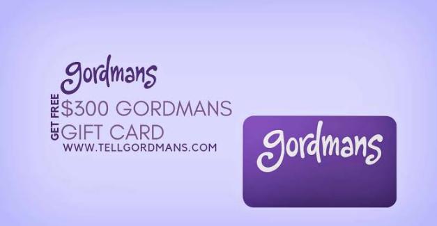 Gordmans Survey Rewards