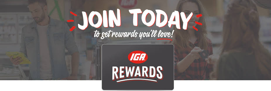 IGA Customer Feedback Rewards
