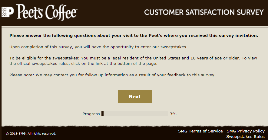 Peetslistens Survey