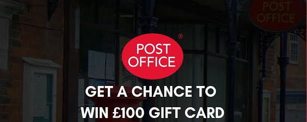 Post Office Tell Us Survey Rewards