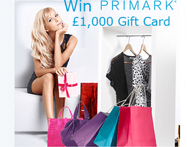 Primark Survey Rewards