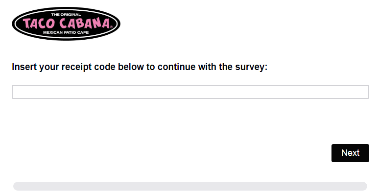 Taco Cabana Guest Satisfaction Survey