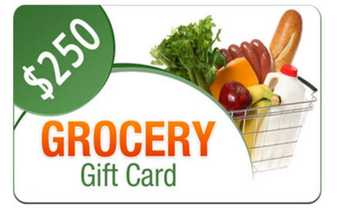 Whole Food Rewards - $250 Gift Card