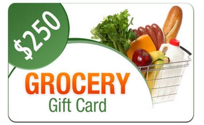 Whole Food Rewards - $250 Gift Card