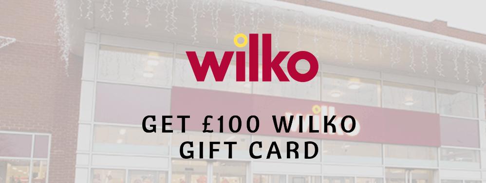 $100 Wilko Gift Card