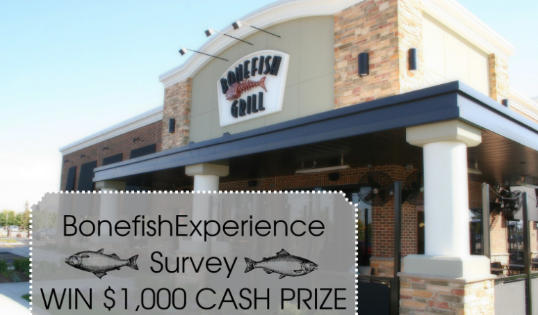 Bonefish Grill Guest Satisfaction Survey Rewards