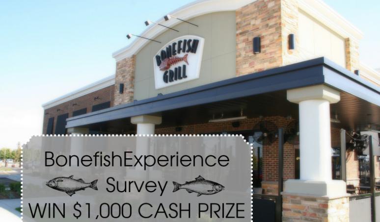 Bonefish Grill Guest Satisfaction Survey Rewards