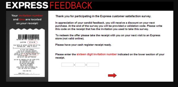 Express Customer Feedback Survey