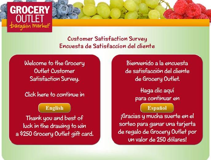 www.Survey.groceryoutlet.com