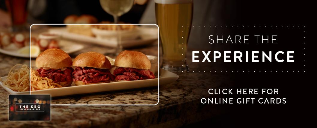Keg Steakhouse & Bar Customer Experience Survey